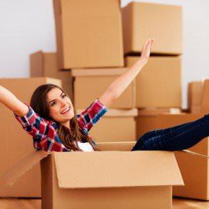 Husk at benytte flyttekasser der kan holde til en flytning.