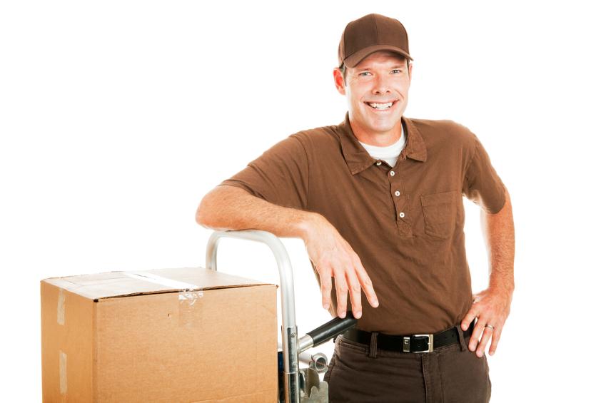 Nedpakning inden flytning med handyman